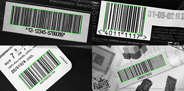 Supported barcode symbologies