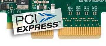 PCIe 2.0 (Gen 2) x4 bus