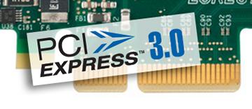 PCIe 3.0 (Gen 3) x4 バス