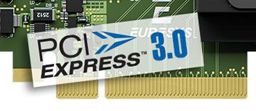 PCIe3.0 (Gen3) x8 バス