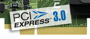 PCIe 3.0 (Gen 3) x8 bus