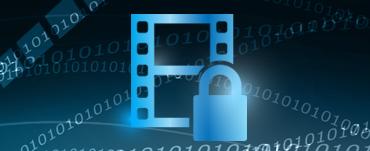 公開キー/非公開キーによりオプションで動画を暗号化