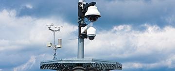 PTZ カメラを管理するシリアルポート