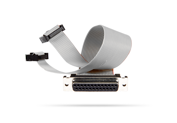 DB25 AV adapter cable for Picolo U4 H.264 PCI-104